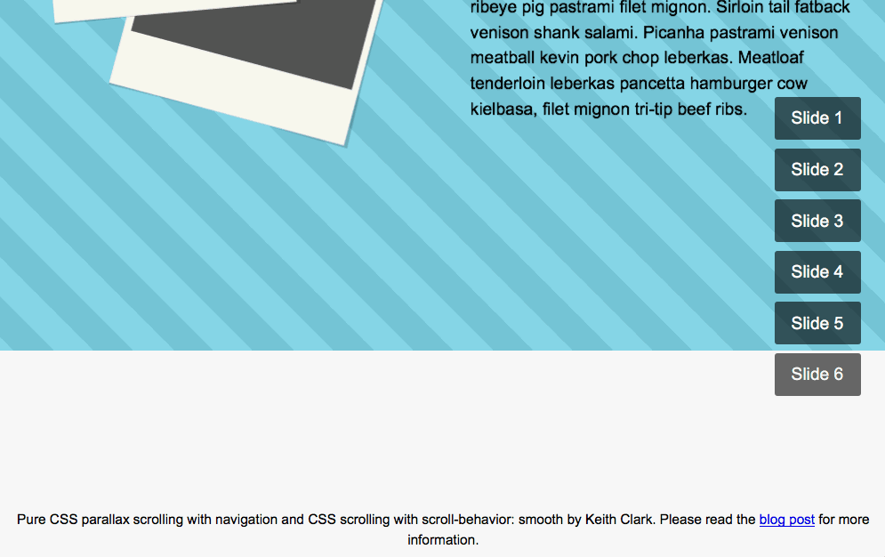 Practical CSS Parallax